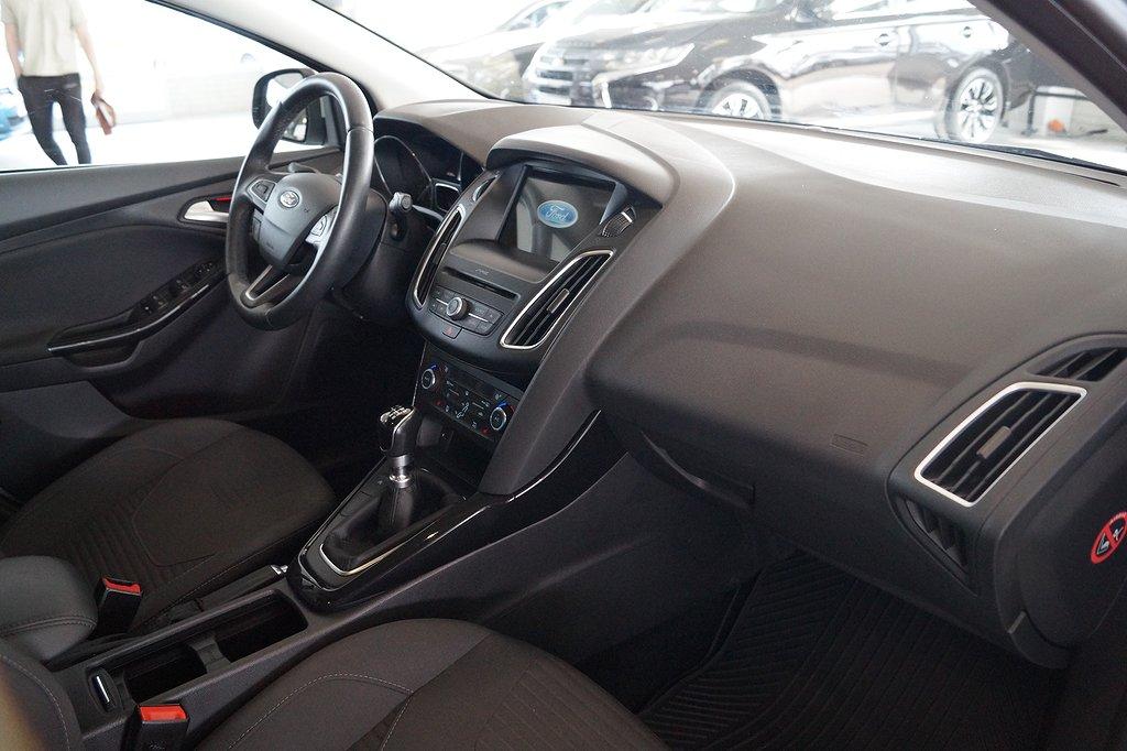 Ford Focus Kombi 1.0 125hk EcoBoost Euro 6 Titanium kombi, Skatt 360: