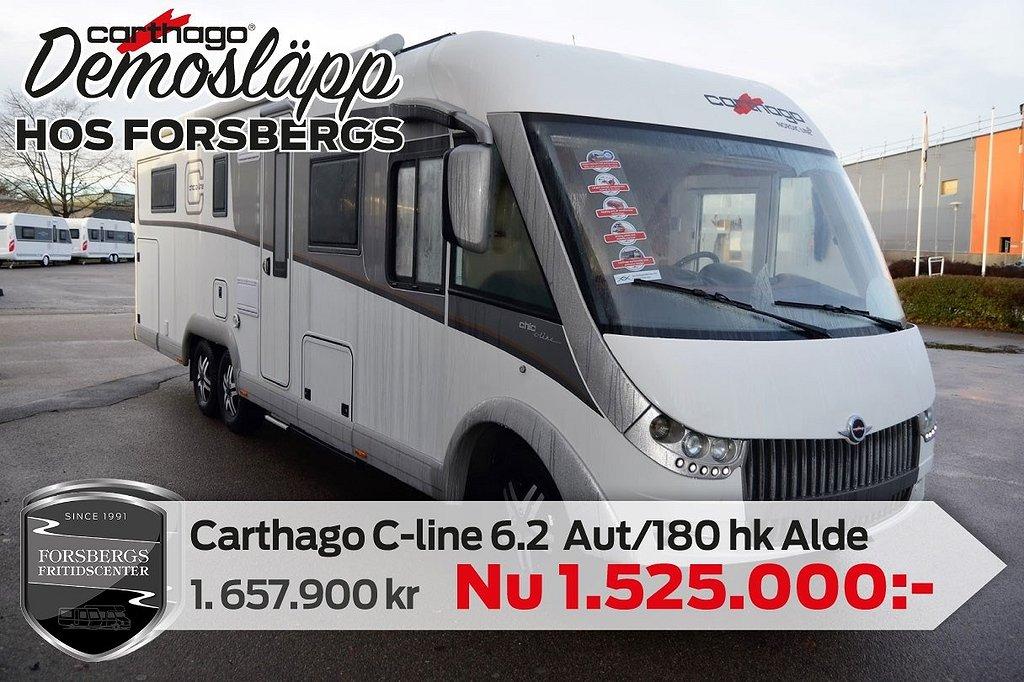 "Carthago Chic c-line I 6.2 QB XL / KAMPANJPRIS / 180hk / Aut / TV 40"""