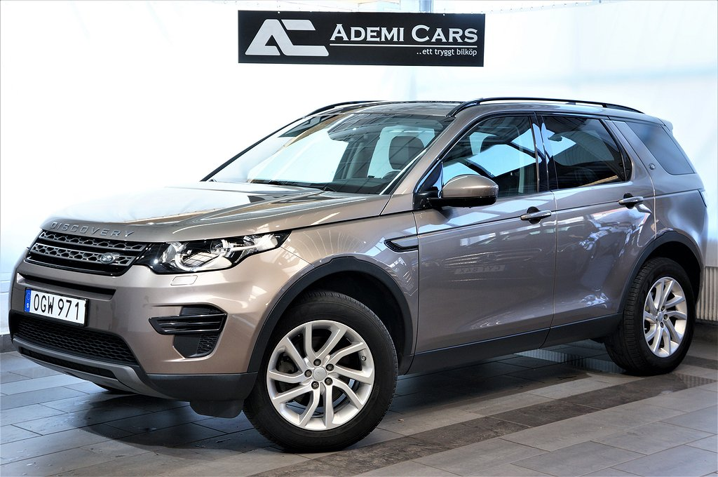 Land Rover Discovery Sport 2.0 TD4 4WD 180HK AUTO Drag