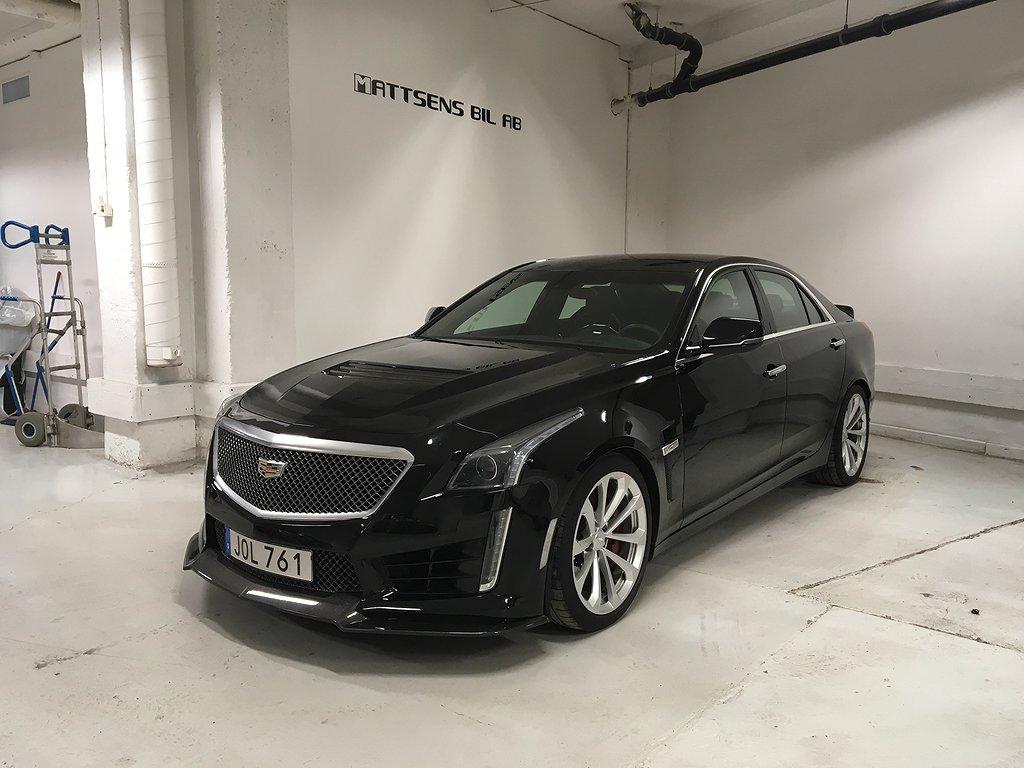Cadillac CTS CTS-V 6.2 650Hk / Svensksåld