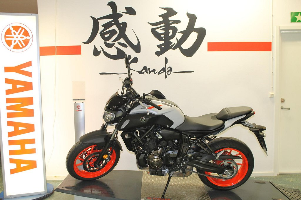 Yamaha MT-07 Ice Fluo Demo 47mil