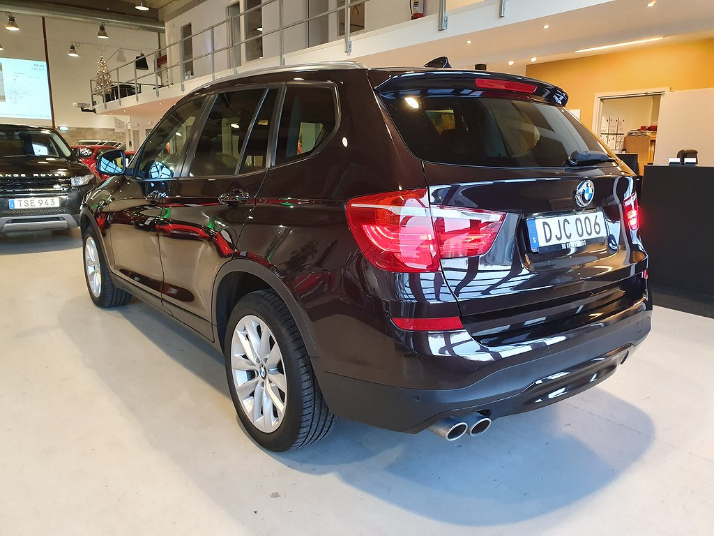 BMW X3 xDrive 30d Steptronic Euro 6 258hk