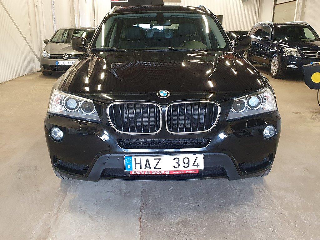 BMW X3 xDrive20d Steptronic 184hk(0:KONTANT)