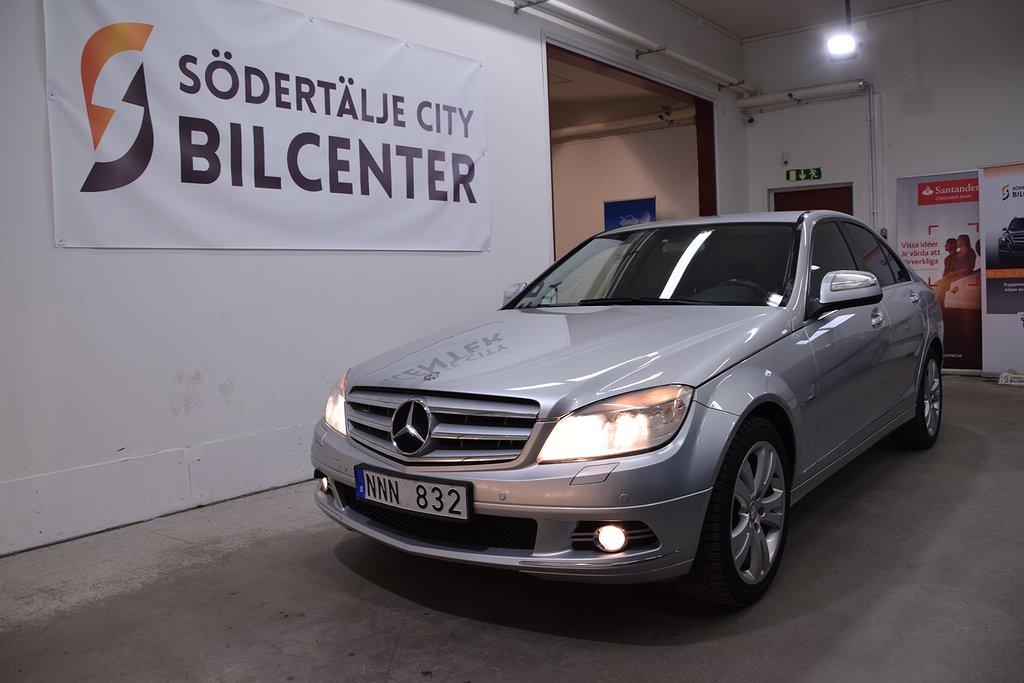 Mercedes-Benz C 200 Kompressor 5G-Tronic Avantgarde 184hk Svensksåld