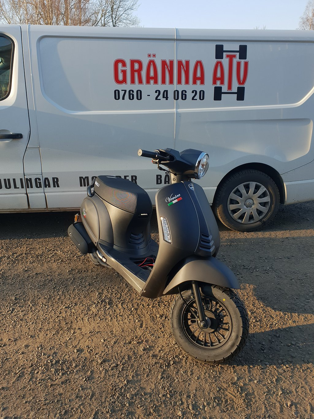 Viarelli Venice Tuff Retro Moped Klass 1