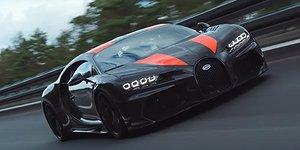 Anklagelsen mot Bugatti: Rekordet är fusk