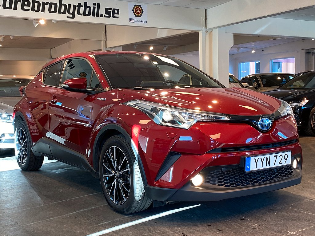 Toyota C-HR 1.8 VVT-i Hybrid Aut B-Kamera M-värmare JBL 123hk