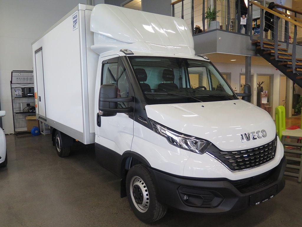 Iveco Daily 35S16HA8 (160 hk) Skåp+lyft/8-vxl aut/HVO/Lastar ca 1000kg