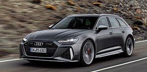 Bild-extra: Audis nya kombi med 600 hk