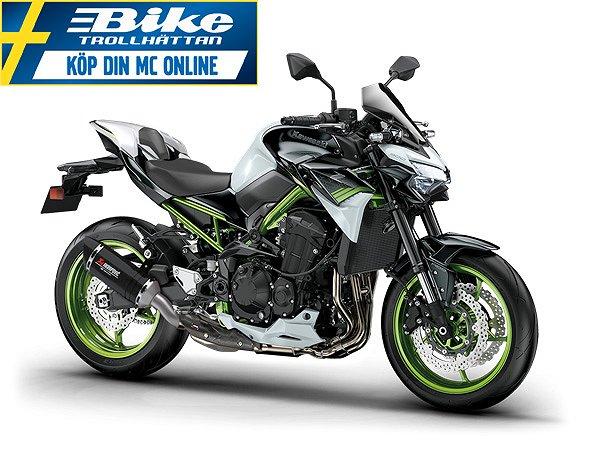 Kawasaki Z900 Vit/grön Spara 5000kr