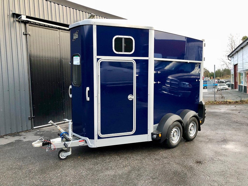 Ifor Williams HB506 med fronturlastning