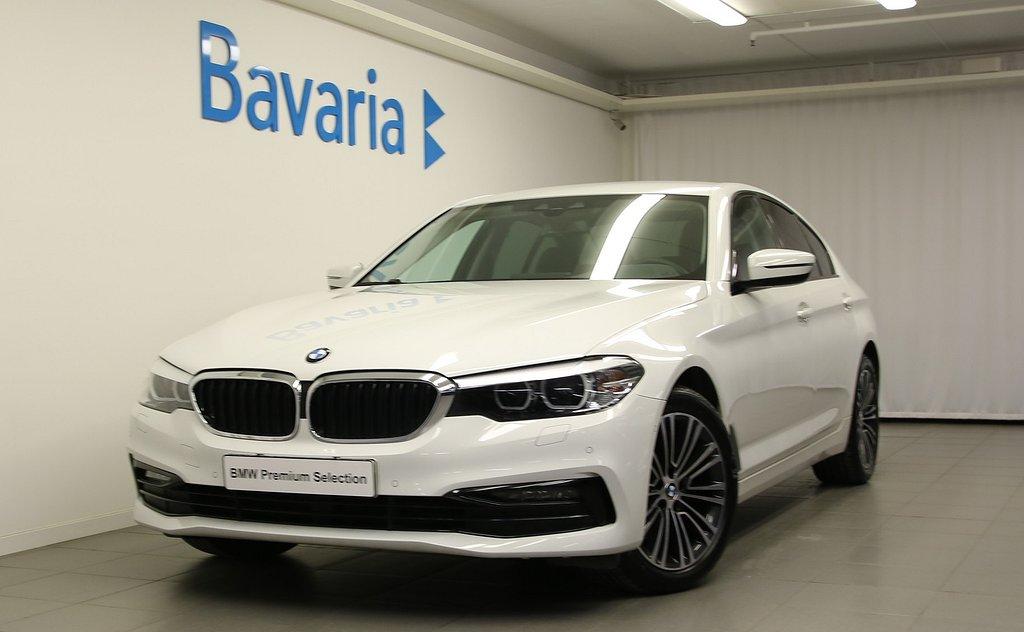 BMW 520 d xDrive Sedan Sport Line Winter HiFi Drag