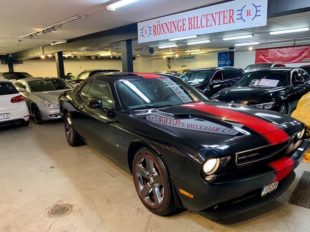 Dodge Challenger SXT PLUS Auto 309hk NAVI 0KR RÄNTEFRI REA