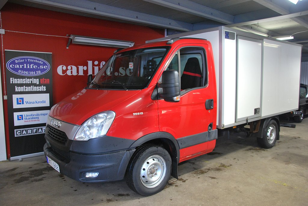 Iveco Daily 95000+moms 2,3  BAKGAVELLYFT