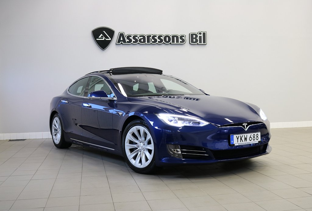 Tesla Model S 100D / Air Suspension / LEASEBAR / SoV-hjul
