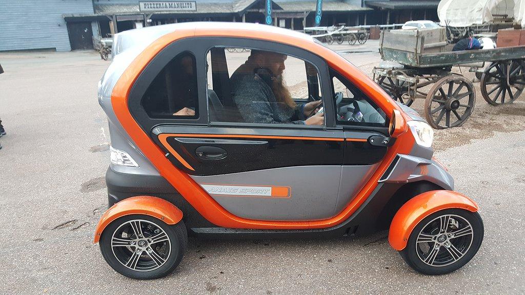Escape Quick 3000, EL-mopedbil