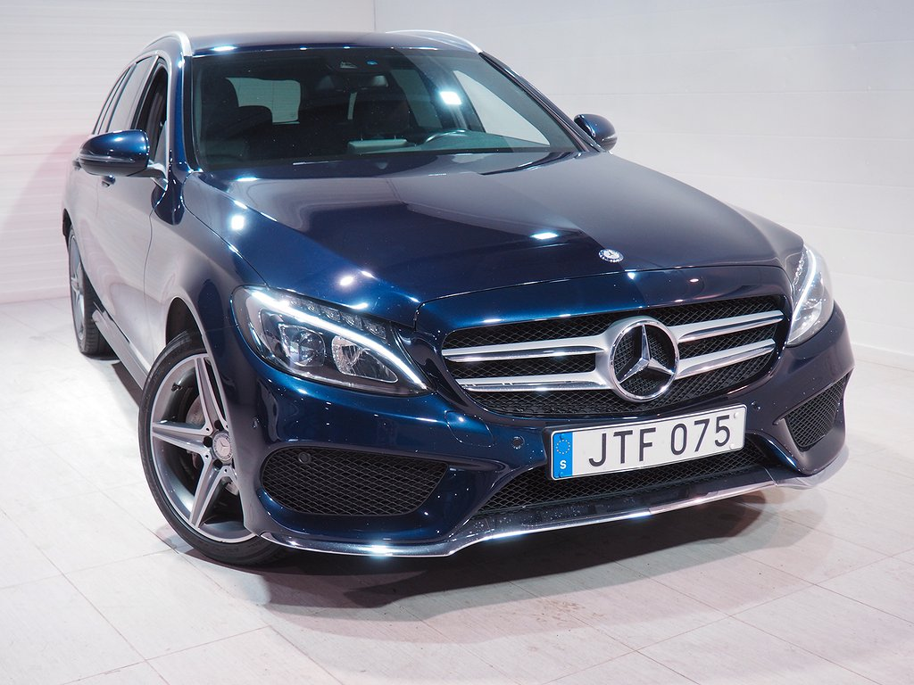 Mercedes-Benz C 220 T d Automat Plus 170hk AMG Dragkrok 2016