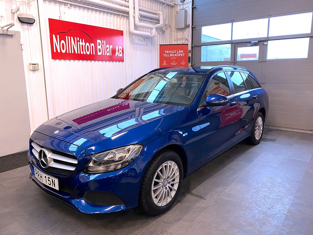 Mercedes-Benz C 200 T BlueTEC 7G-Tronic Plus Euro 6 136hk