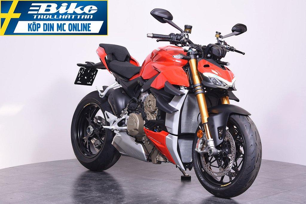Ducati Streetfighter V4S 10000kr i presentkort ingår