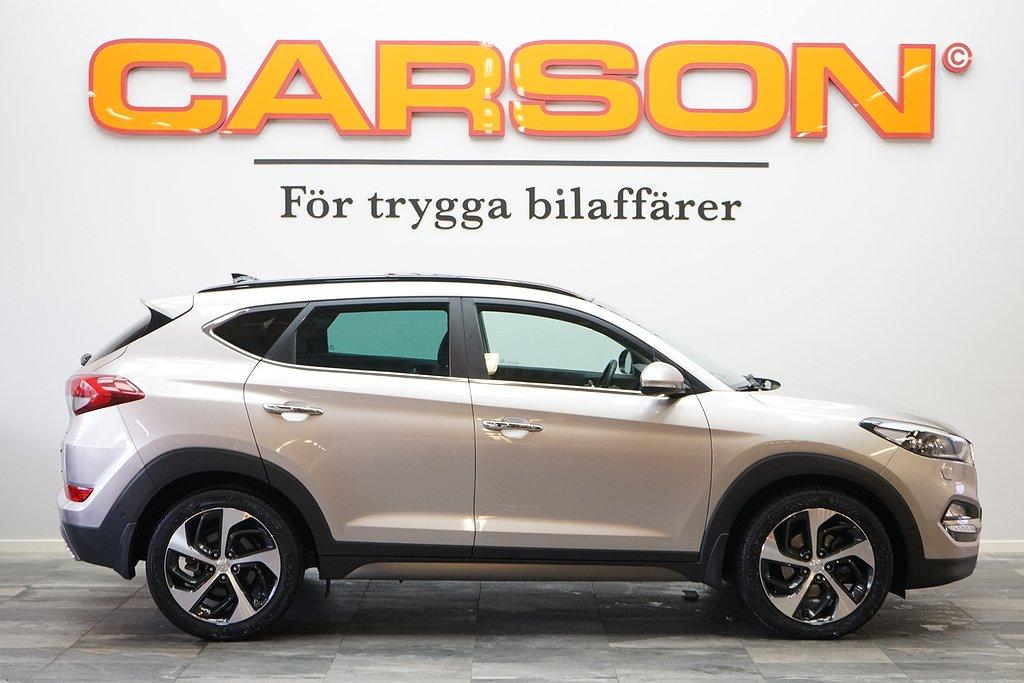 Hyundai Tucson 2.0 CRDi 184HK 4WD Panorama Navi Backkamera