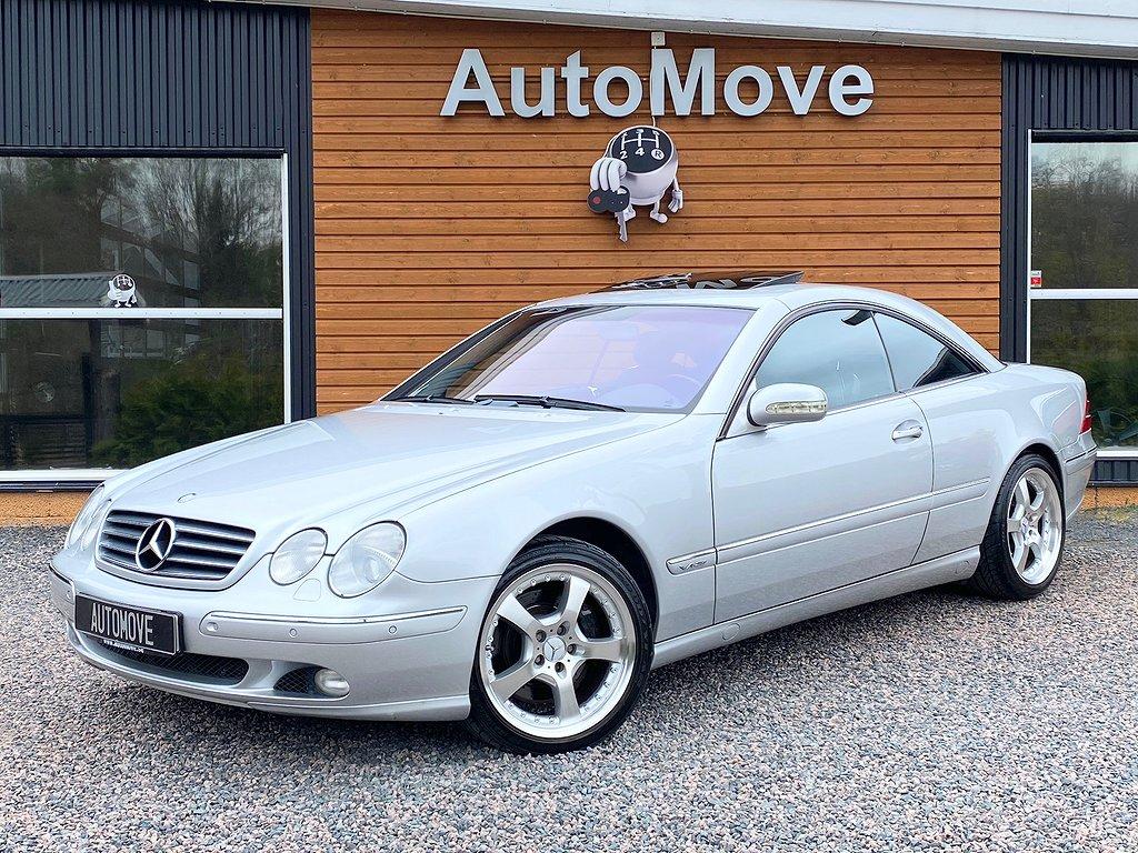 Mercedes-Benz CL 600 - V12 - Endast 6500 mil