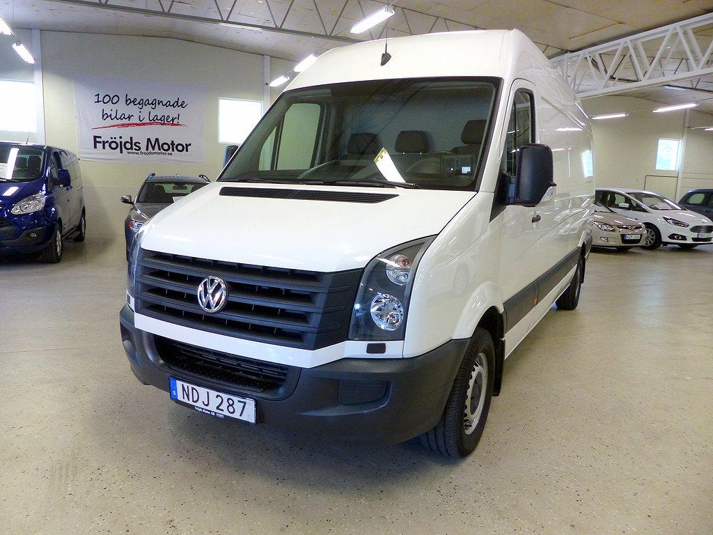 Volkswagen Crafter 35 Skåp TDI 163 hk 6-växlad AC 3-sitsig Lång 432 Hög Dra