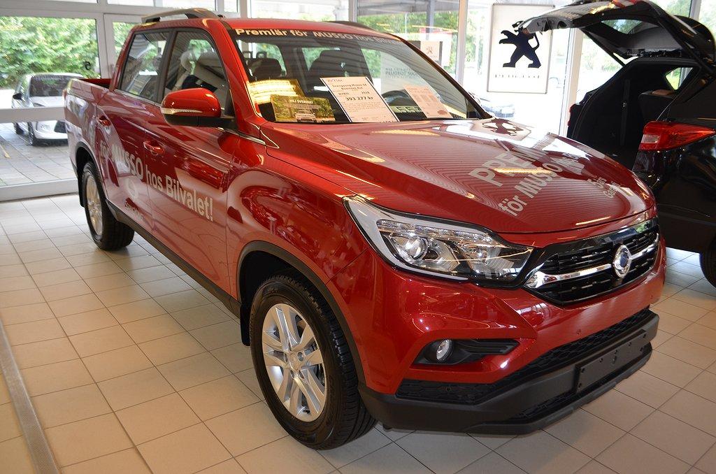 SsangYong Musso SE BUSINESS 4WD 181hk Aut Momsbil Drag