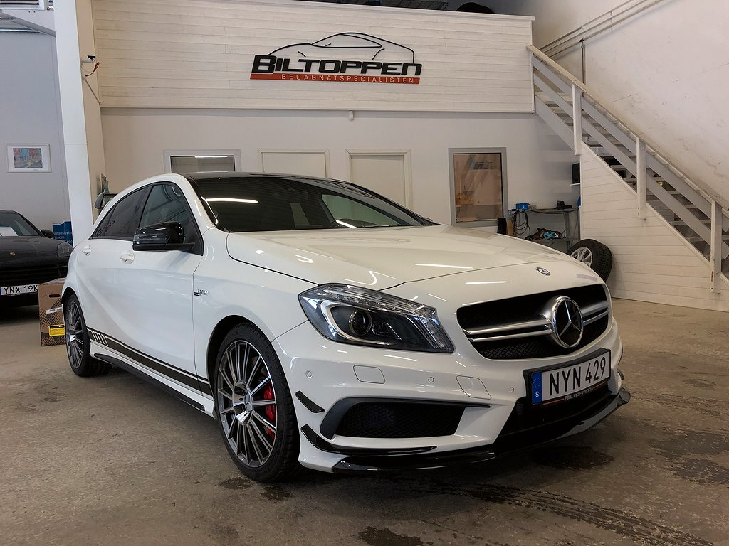 Mercedes-Benz AMG A 45 Night 4MATIC 360hk Nyservad