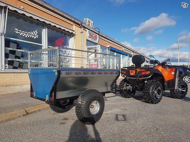 Övrigt BlackWolf ATV Gårdsvagn Tippbar 640kg kapacitet *0108
