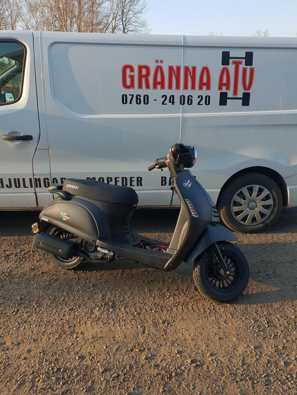 Viarelli Venice Tuff Retro Moped RÄNTEFRITT Gränna ATV