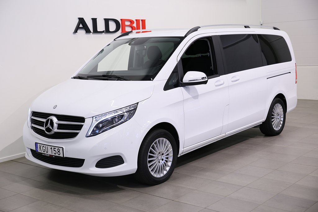 Mercedes-Benz V 220d 163hk 4MATIC Fleet Edition Lång 7-sits