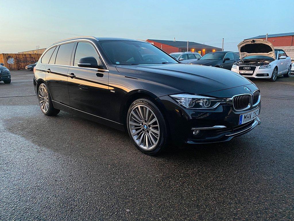 BMW 320 d xDrive Touring Steptronic Luxury Line 190hk navi läder
