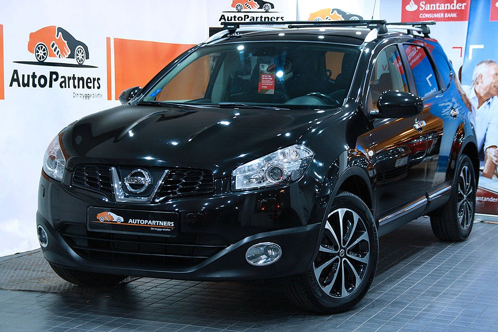 Nissan Qashqai+2 2.0 7-SITS 141hk (N-TEC) 2-ÄGARE LÅGMIL