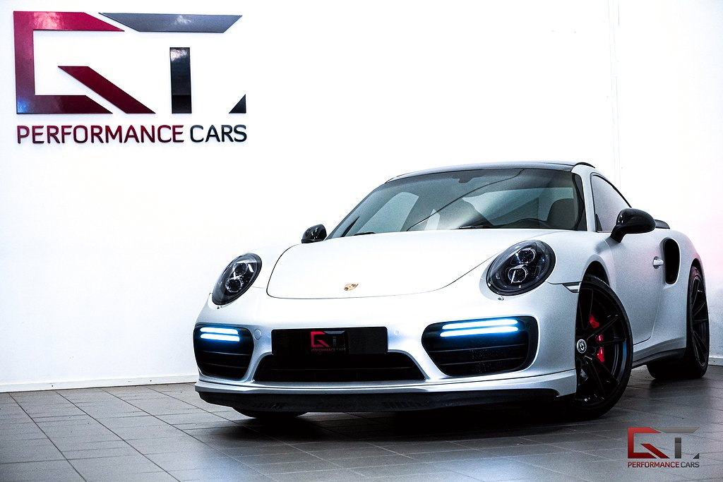 Porsche 911 Turbo PDK Facelift Sv-Såld Pano 18-Vägs PDLS+