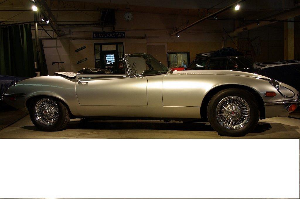 Jaguar E-Type V12 Rdst SIII OBS ! Pris på förfrågan !
