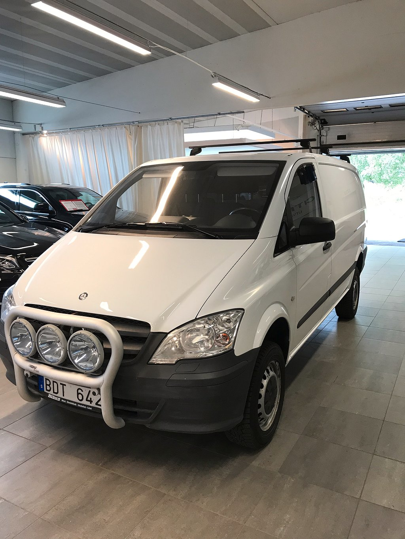 Mercedes-Benz Vito 113 cdi AUT 4x4 vito 113 cdi