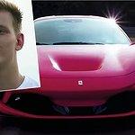 Här testar legendarens son värsting-Ferrarin