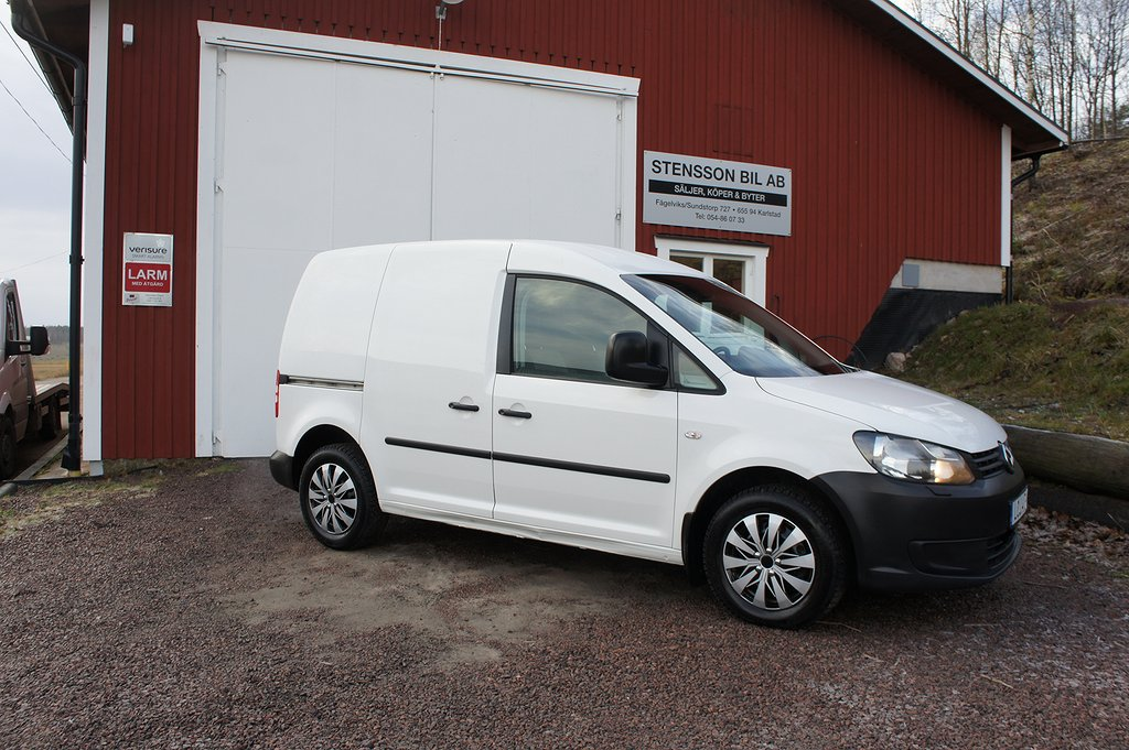 Volkswagen Caddy Skåp 1,6Tdi 102 Hk, Inred, Drag.