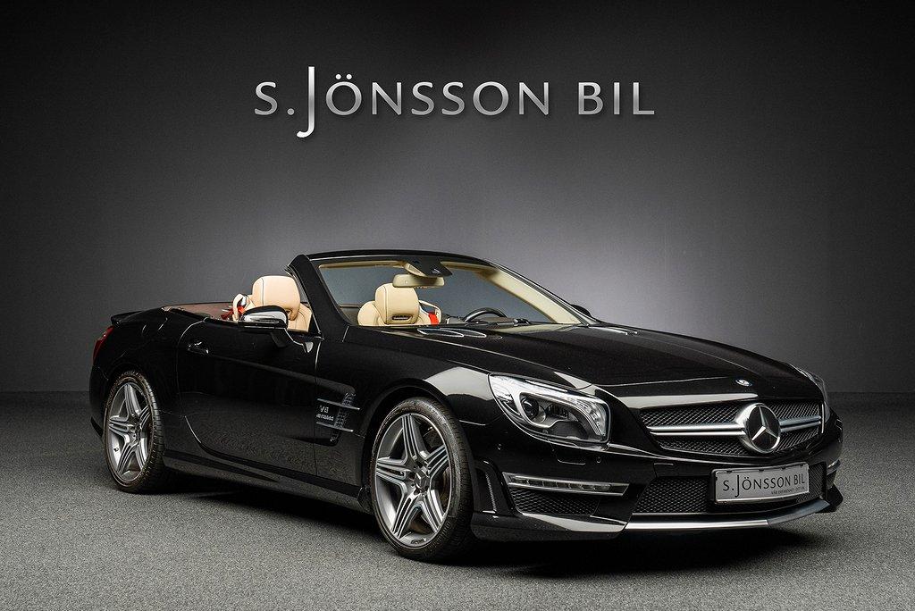 Mercedes-Benz SL 63 AMG / Se filmen / Magic sky / Se video /
