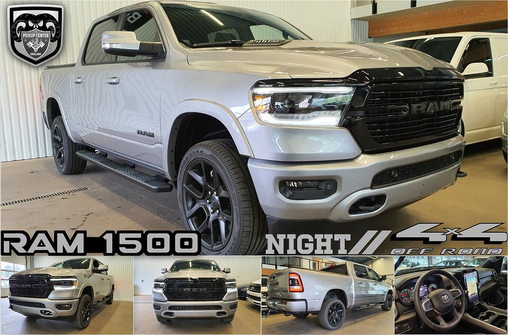 Dodge RAM 1500 NIGHT OFF-ROAD *fr 2915:-/mån ink moms 100 000:- ink mo