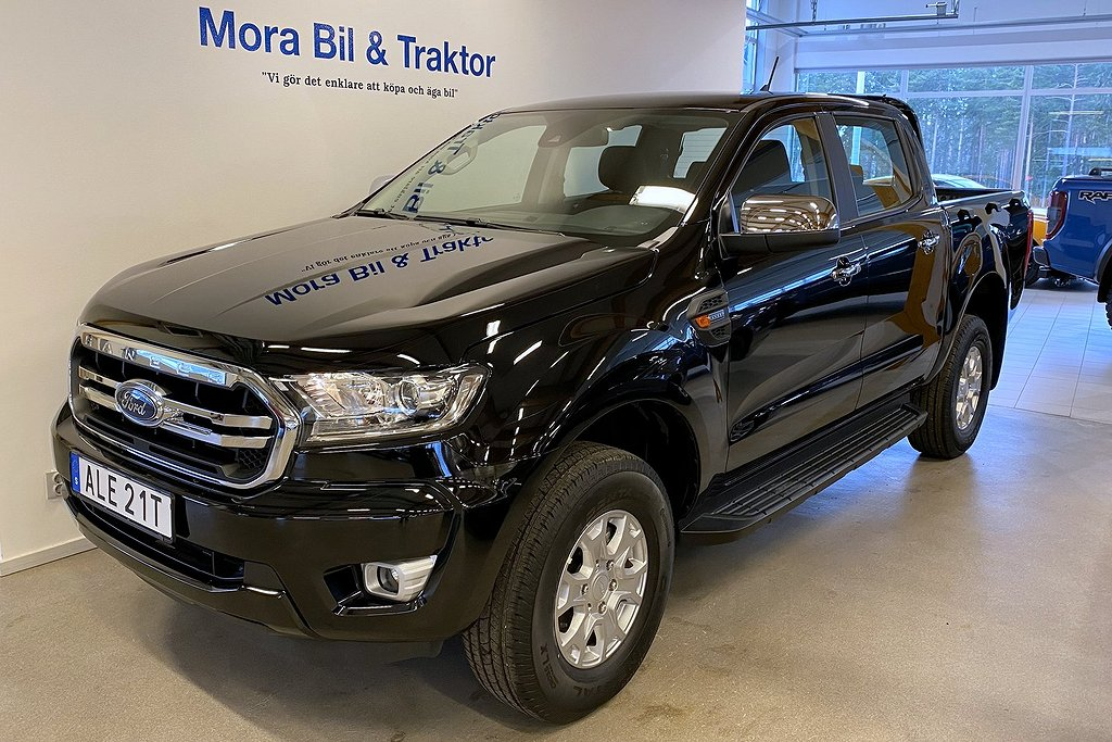 Ford Ranger Double Cab XLT 2.0L EcoBlue 170 hk 6-vxl manual