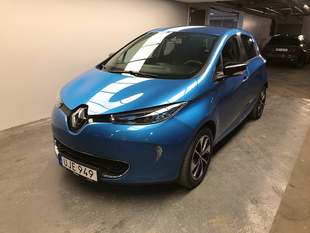 Renault Zoe R110 109 hk 41 kWh Intens batterihyra II