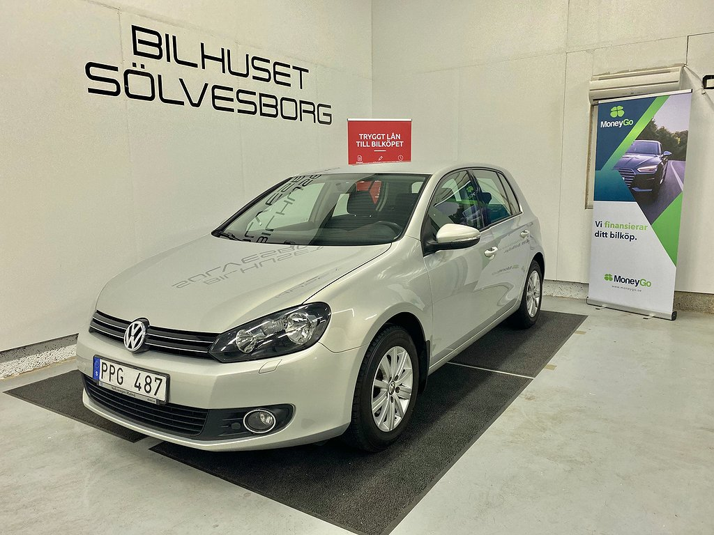 Volkswagen Golf 5-dörrar 1.6Multifuel Style NYBES,SERV 102hk