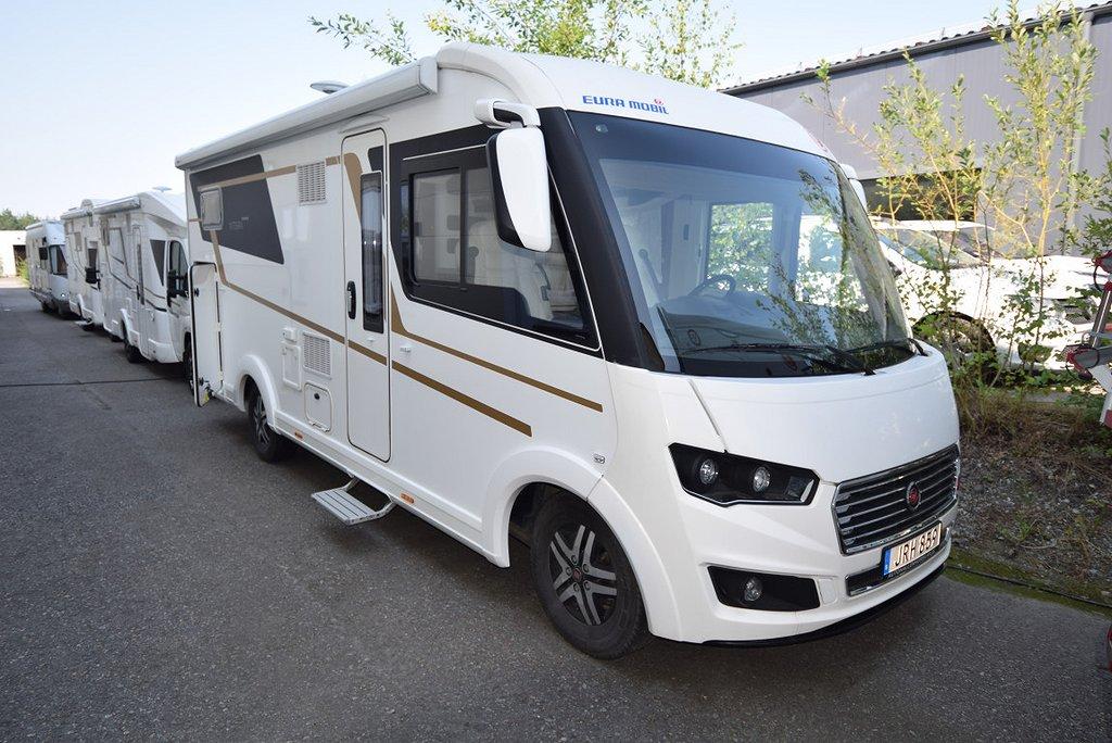 Eura Mobil INTEGRA 700EB, Höga långbäddar, Automat, 180hk