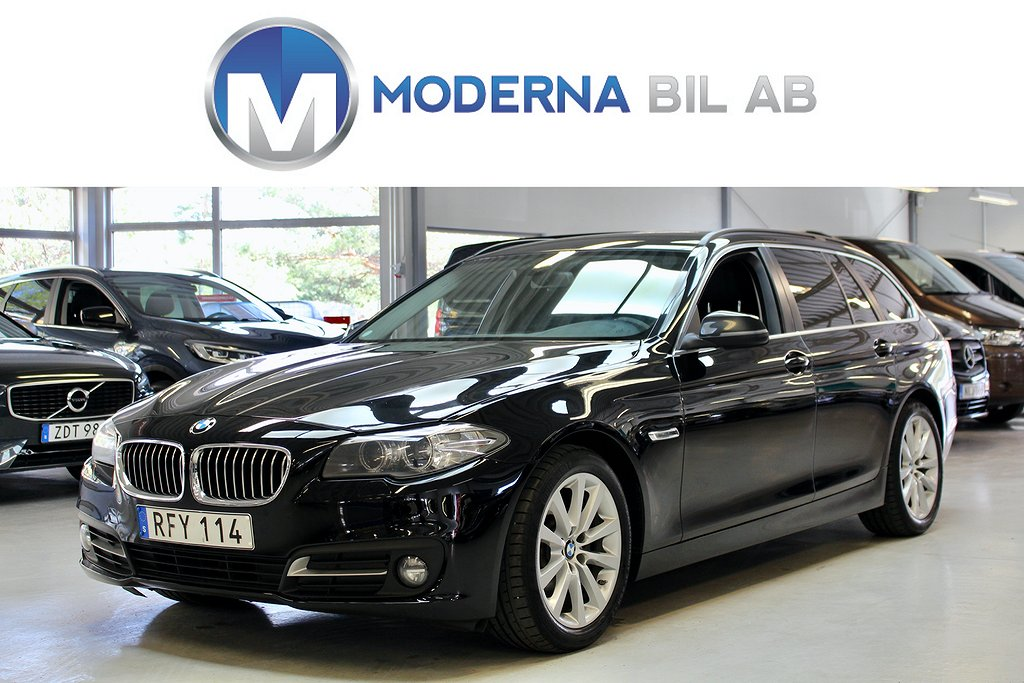 BMW 520 d xDrive 190hk MOMS M-RATT SKINN PDC ELBAKLUCKA EU6