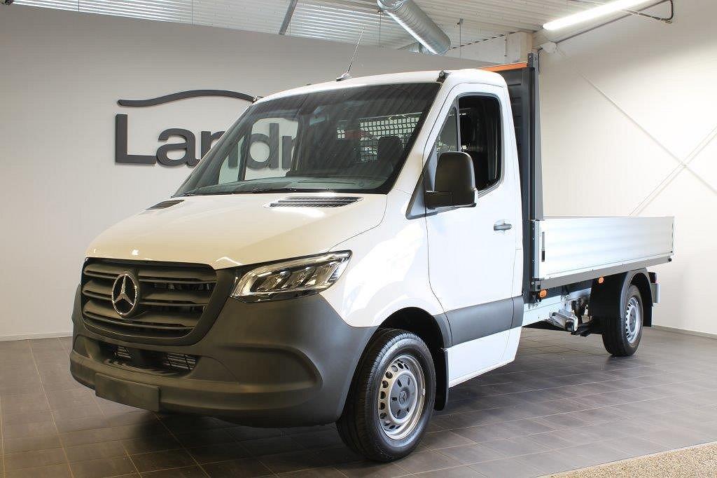 Mercedes-Benz Sprinter Flak...LÅGA Skatten 311 Flak Nya modellen 9-vxl automat