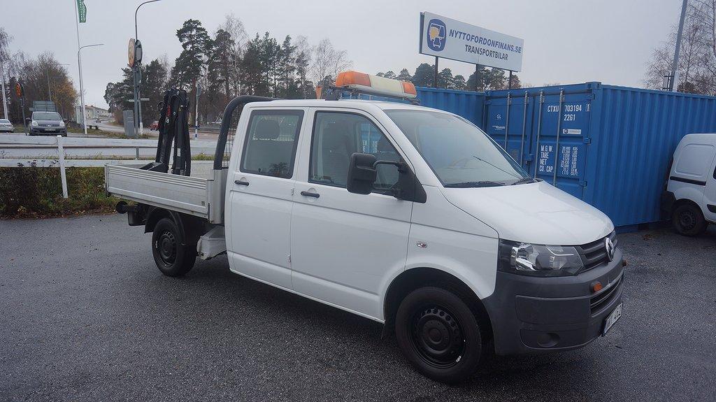 Volkswagen Transporter 2,0 Ecofuel D-hytt Hiab 008 Kran