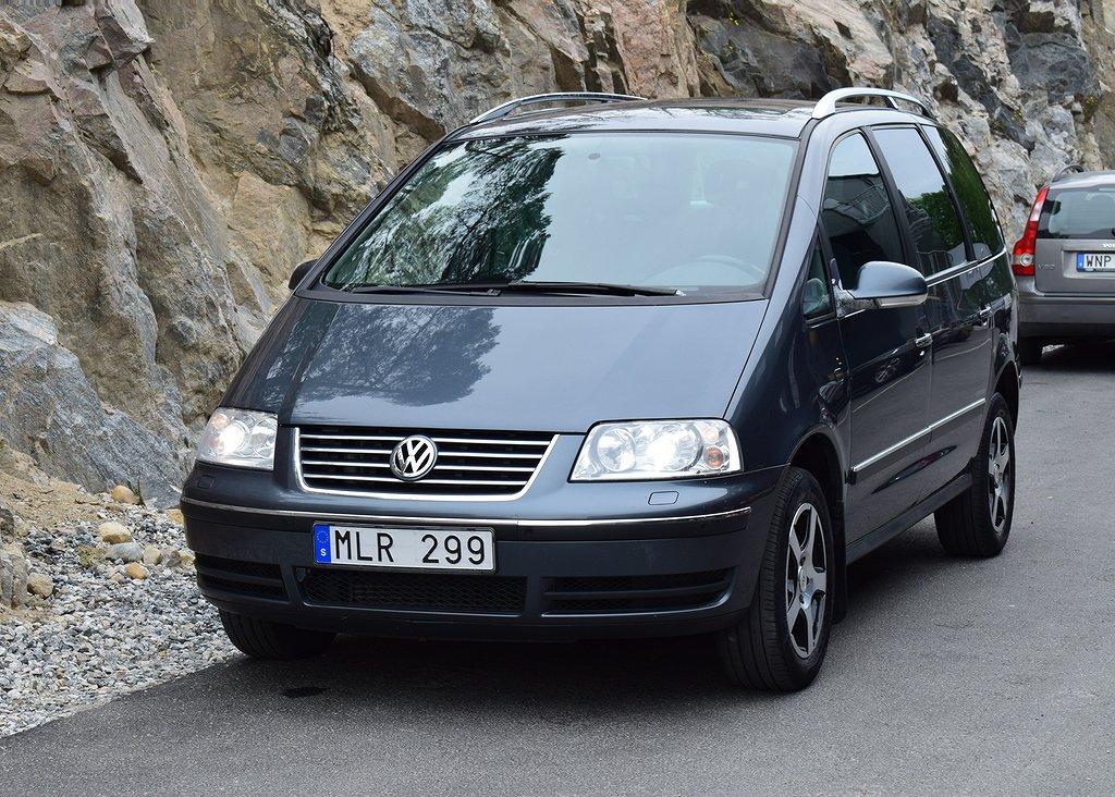Volkswagen Sharan 1.8T Auto 7-sits 150hk Nyservad
