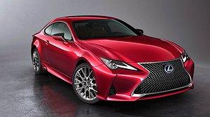 Lexus RC får mer stil och elegans