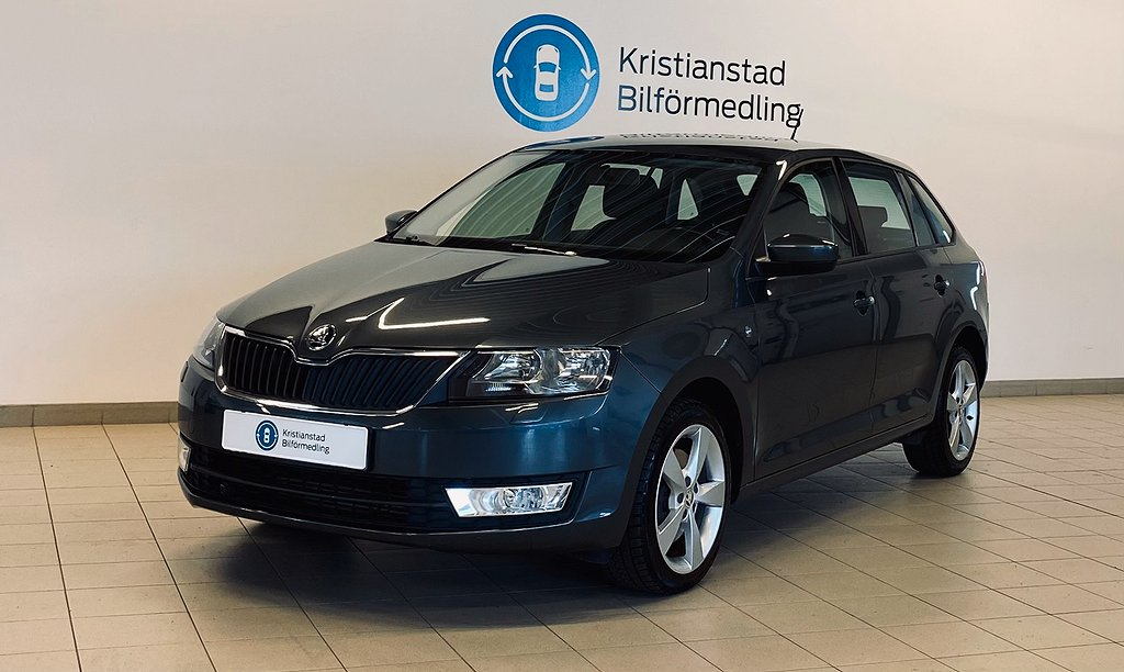 Skoda Rapid Spaceback 1.6 TDI Plus Elegance 90hk